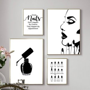 Nail Salon Quotes Makeup Wall Art Other Home Decor Home Dcor Posters and Prints Tech Artist Gift Fashion Art Picture Canvas Painting Nail Be