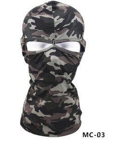 Maschere cappuccio Tactical Mask Balaclava Equitazione antivento Full Face paracollo Ninja Copricapo maschere Cappello da equitazione Escursionismo Outdoor Sport Ciclismo