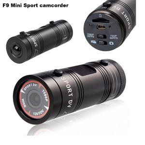 F9 Full HD 1080 P 3MP AIV Mini Camcorder Kleine Aluminium Sport Action Recorder Helm Kamera DV DVR Sport Extrem Sport Camcorder