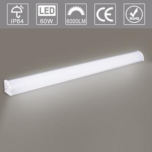 직각 사무실 빛 0.6m 85-265V 복도, 계단, 사무실, 워크 벤치, 주방, 옷장, 차고, 지하실, 캐비닛 LED 램프