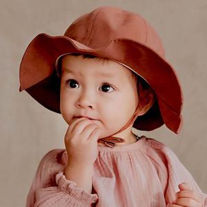 Summer baby hats kids Bucket Hat Kids Hats boys Sun Hat Girls bucket hat Girls Caps Wholesale Boys Caps A3598