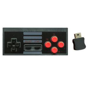 Für NES Classic Edition Wireless Controller 2,4 GHz Joypad Joystick Controller SNES Super für Nintendo Classic MINI Remote Console Freies DHL