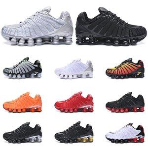 Nike shox TL uomini scarpe Triple Nero bianco Pure Platinum Argilla Alba arancione calce formatori Blast sportiva dimensioni sneaker 40-46 in esecuzione