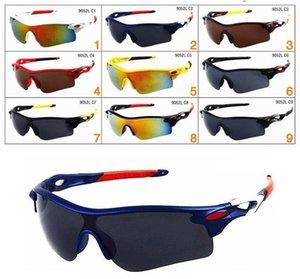 Marka Erkekler ve Kadınlar için Ucuz Güneş Gözlüğü Açık Spor Güneş Cam Gözlük Tasarımcı Güneş Gözlüğü sürüş bisiklet güneş cam 9 renkler ücretsiz kargo