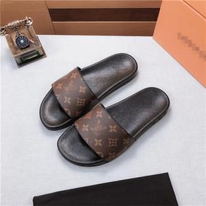 N78 ultimi uomini nuovi di alta qualità i sandali di modo casuale delle donne pantofole flip-flop popolare estate tacchi alti pantofole tacco alto tacco 4,5 centimetri