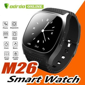 M26 smartwatch Wireless Bluetooth Smart Watch Phone Bracelet Camera Remote Control Anti-lost alarm Barometer V8 A1 U8 watch for IOS Android