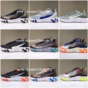 ücretsiz teslimat Yakında ayakkabı erkek kadın tasarımcı spor ayakkabıları hafif kemik spo çalışan Eleman 87 Undercover X S0UTH Tepki hococal