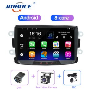 JMANCE Car Multimedia player Android Radio Gps Navigation Video Music System For Dacia Duster Sandero Logan 2010-2015
