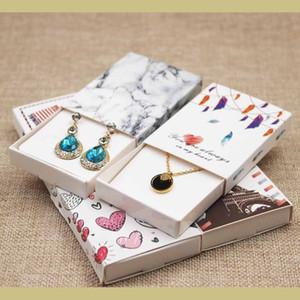 Traumfänger gedruckt Geschenkbox Diy handgemachte Liebe Hochzeitsbevorzugungskasten UK / USA Land Signal Geschenkpaket 12st + 12er innere Karte