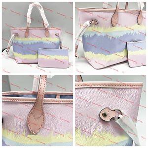 Mulheres na moda Tote Designer Estilo Tote com coleta Dye Bolsa Laço Designer sacos para luxuosos das mulheres Handbag bolsas Pastel Bolsas