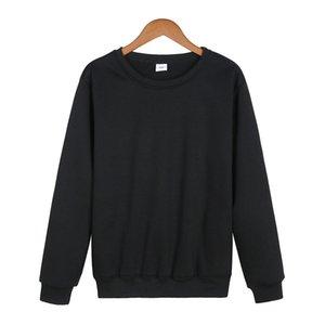 10colors ocasional de los hombres sudaderas con capucha del nuevo del resorte otoño invierno color sólido Fleece Pullover Escudo caliente sudaderas tamaño masculino de la UE