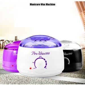 500ML 파라핀 왁싱 히터 왁스 따뜻한 냄비 헤어 리무버 바디 스파 살롱 키트 손 모근 제거기 발 파라핀 왁스 기계 바디 탈모