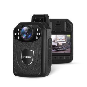 Boblov KJ21 바디 카메라 1296P DVR 비디오 레코더 보안 미니 Policia 캠 IR 나이트 비전 경찰 카메라 자경단 드 SEGURIDAD