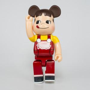 الأرقام HOT 400٪ 28CM Bearbrick alphabe tstyle لعبة لهواة جمع كن @ rbrick الفن عمل زخارف نموذج الاطفال هدية