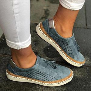 MoneRffi Chaussures Casual Slip-On Sneaker Femme Femme confortable Lady Mocassins Flats Tenis Feminino Zapatos De Femmes