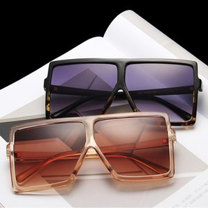Vintage Square Frame UV Resistant Sunglasses for Women Travel Big Sunglasses Fashion Summer Jewelry Accessories Wholesale