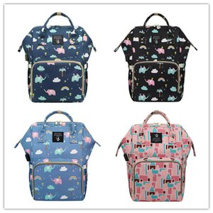 News High Capacity USB Mummy Backpack Multifunctional Oxford Zipper Travel Shopping Bag Mami Dry Wet Depart Bottle Carry Case Mochila LY229