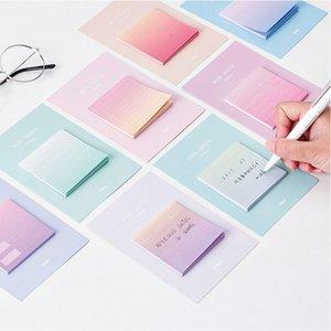 30Sheets bonito Memo Kawaii Planets criativa Pad Sticky Notes Notebook Memo Stationery Publicar Anote fontes de etiquetas de papel de escritório da escola