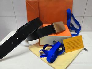 2020 vente chaude nouvelles femmes d'hommes ceinture en cuir véritable ceinture de ceinture Lettre animale boucle de ceinture pour le vendeur top cadeau y compris les boîtes