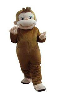 New Style Neugierige George Monkey Maskottchen Kostüme