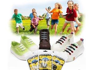 Creative Design Children Fashion Designer Athletic Running No Tie Shoe Lace Elastic Lazy Silicone Shoelaces.Lazy Bat Shoelace