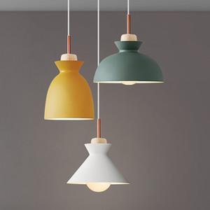 современные подвесные светильники Nordic led lamp Рождественские украшения для домашнего освещения светильники для гостиной с абажуром - Le77