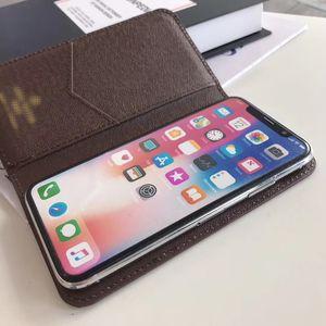 Classic Trend Official Foilo Flip Wallet Phone Case for IPhone 11 11pro 11promax X XS MAX XR 8 8Plus 7 7plus PU Leather Unique Conqer Cover