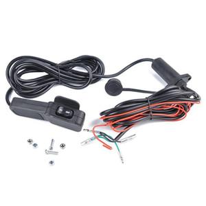 Moto 12 Interruttore sigillato Connettori -24V generale Atv / Utv 3m verricello Telecomando linea di switch Winch di gestire il full accessori per la casa