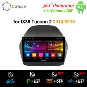 Ownice Octa Sekiz Çekirdek Android 9.0 Araç DVD oynatıcı Radyo DSP SPDIF GPS k3 k5 k6 Hyundai iX35 için 2010-2015