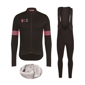 RCC 2020 desgaste do inverno térmica velo Ciclismo Jersey Ropa Ciclismo Mtb Long Sleeve bicicleta roupa Maillot Biciclet