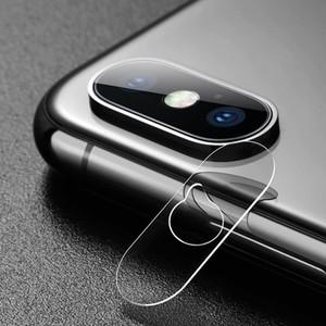 Glasschirm-Schutz-volle Abdeckung für IPhone X XR XS maximaler Kamera-Telefon-Objektiv-Kasten für IPone 7 8 plus Etui Stoßzusätze