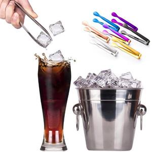 Mini Şeker Klip 304 Paslanmaz Çelik Cımbız Ice Cube Tong Kelepçe Kahve Küçük Çay Klipler Nipper Mutfak Bar Aracı