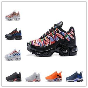 Los zapatos corrientes de campeón de la Copa Mundial de Francia PLUS TN Deportes zapatillas de deporte de airss Cojín Tns mujeres de los hombres respirables 36-46 LOS PRECIOS