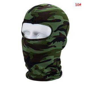 Winddicht Radfahren Gesichtsmasken Vollgesichts Winter Warmer Balaclavas Fashion Outdoor Bike Sport Schal Maske Fahrrad Snowboard Ski DBC VT1020 Maske