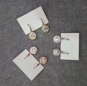 Нью-Йорк Стилист серьги моды кристалл падение серьги с большой алмаз сплава ювелирные изделия Дешевые Мода ювелирные изделия женщин подарков