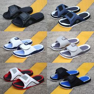 Jumpman 4 тапочки сандалии Гидро IV 4s Слайды черный Бесплатная доставка мужчин баскетбол обувь 11 XI 6 VI обувь на открытом воздухе кроссовки размер 7-13