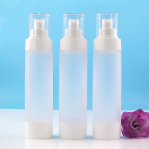 2020 new 100ml Cosmetic Empty Plastic Bottle Frosted Travel Liquid Bottles Airless Pump Vacuum Toiletries Container