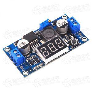DC-DC boost Modul / digital voltmeter display / LM2577 boost platine / 3A Ausgang
