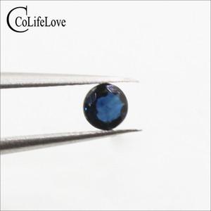 3 мм до 5 мм 100% натуральный Сапфир свободный драгоценный камень из Китая оптовая цена сапфир для ювелирного магазина