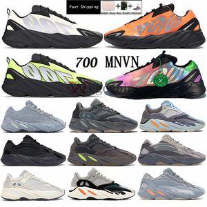Con la scatola Kanye 700 Phosphor Bone MNVN mens scarpe da ginnastica v3 Azael Alvah 500 utilità nero 380 Mist Alien delle donne di sport esterni Running Shoes