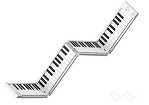 Portable 88-key folding electric piano