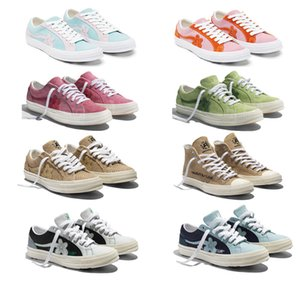 2019 Tyler x One Star Ox Golf Le Fleur Fashion Designer Sneakers TTC calçados casuais para Skateboarding sapatos de desporto para as Mulheres Homens c6