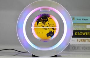 Levitación magnética flotante geografía globo del mapa del mundo Tellurion luz LED Terrestre niños y juguetes de aprendizaje Globo Mágico Antigravity