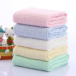 105x105cm Kinder Handtuch Kleinkind-Baby-weiche Baumwolle Badetuch Infant Sleeping Wrap Blanket für neugeborene Baby-Artikel