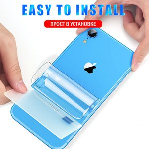 25D Full Cover Curved Hydrogel Film For iphone 11 XR X XS MAX Protector For iphone 6 6s 7 8 Plus SE 2020 Film Not Glass