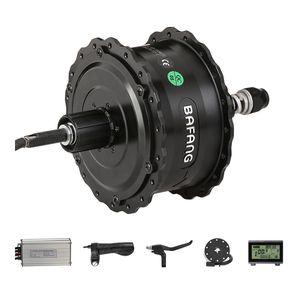 Cassette Rear Hub Motor Kits with BAFANG 750W 48V Brushless DC Motor Fat Bike Hubmotor Fat Tire Bicycle Electric Motor Kits CST