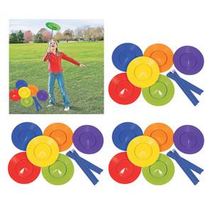 3x jonglerie Plate Bâtons Jeux Fun compétences Équilibre Jouets Props Performance