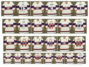Montreal Canadiens Vintage Jersey 11 Saku Koivu 26 Josh Gorges 27 ALEX KOVALEV 31 Carey Price 67 Max Pacioretty 76 P K Subban CustomHockey