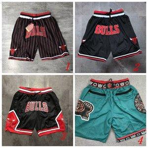 Costurado Mens Basketball Apenas Don bolsonba Shorts Hip-hop Todos Teams Nome da Cidade, Ano Id Tag Mitchell Ness Sweatpants Esporte grande da cara