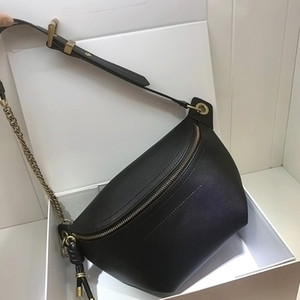 Marsupio in pelle da donna Borsa a tracolla delle migliori marche borse a tracolla firmate moda per il tempo libero borse da donna con tracolla a catena regolabile 2019